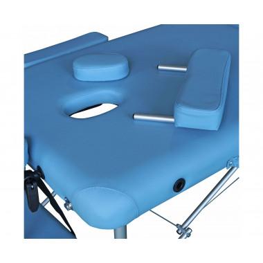 Массажный стол DFC NIRVANA Elegant LUXE голубой