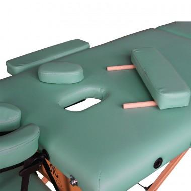 Массажный стол DFC NIRVANA Relax зеленый