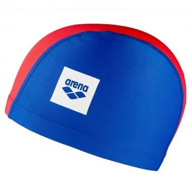Шапочка для плавания детская Arena Unix II Jr арт.02384104 сине-красный