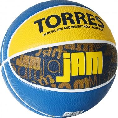 Мяч баскетбольный Torres Jam арт.B02043 р.3