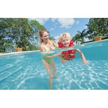 Жилет для плавания BestWay 32156, 18-30кг, 3-6 лет, 2 цвета