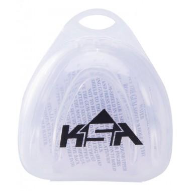 Капа KSA Core Transparent с футляром