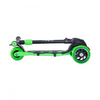 Самокат 3-колесный Ridex Robin, 120/90 мм, неоновый зеленый