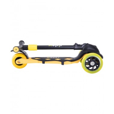 Самокат 3-колесный Ridex Robin, 120/90 мм, неоновый желтый