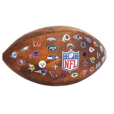 Мяч для американского футбола WILSON NFL Jr team Logo арт.WTF1534XBNFL