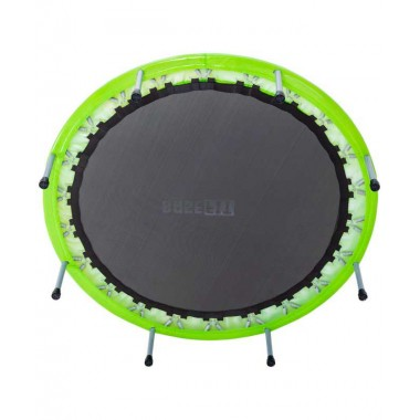 Батут BASEFIT TR-102 127 см, зеленый