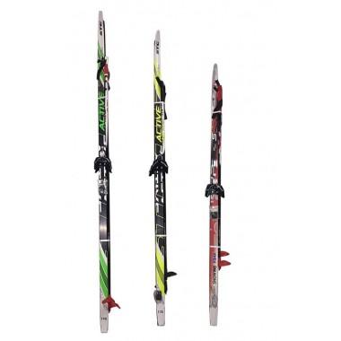 Лыжный комплект (лыжи+палки+крепл.75 мм) STEP длина 200