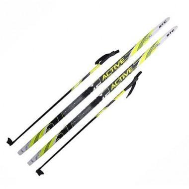 Комплект лыжный (лыжи+палки+крепл.SNN) STEP длина 130