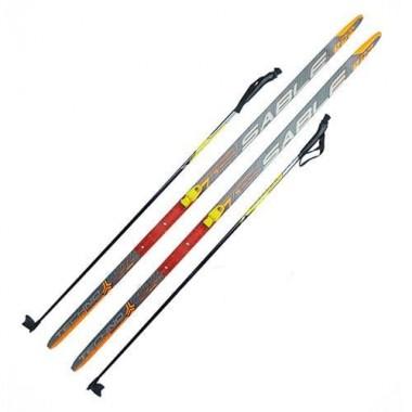 Комплект лыжный (лыжи+палки+крепл.SNN) STEP длина 120