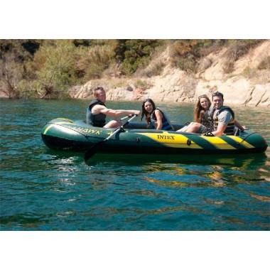 Лодка надувная INTEX 68351 четырёхместная