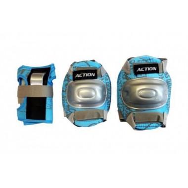 Защита локтя, запястья, колена Action PW-308B р. S