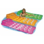 Матрас надувной Intex 58890 цветной со стаканами