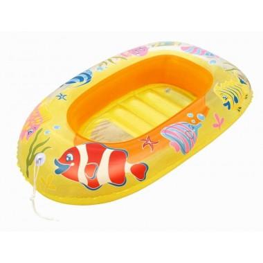 Надувная лодочка Рыбки Bestway 34036 112х71 см