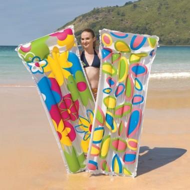 Матрас для плавания Bestway 44021 183х76 см Цветы