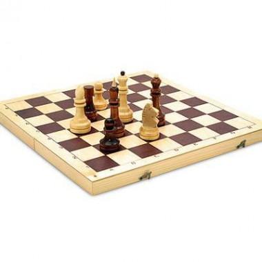 Шахматы лакированные 29*14*3 см (Россия)
