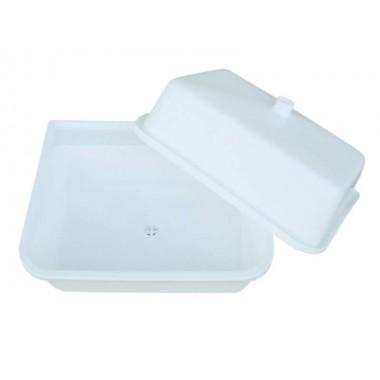 Мойка пластиковая (раковина) с выпуском 410х495х140