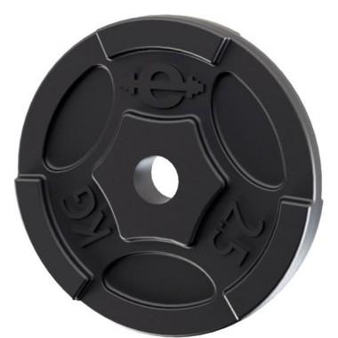 Диск чугунный Euro Classic окрашенный d-26 2,5 кг