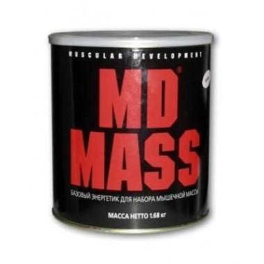 Гейнер MD MASS 1680гр Вкус ваниль