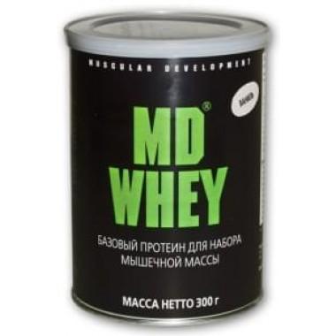 Протеин MD Whey 300 гр Вкус натуральный