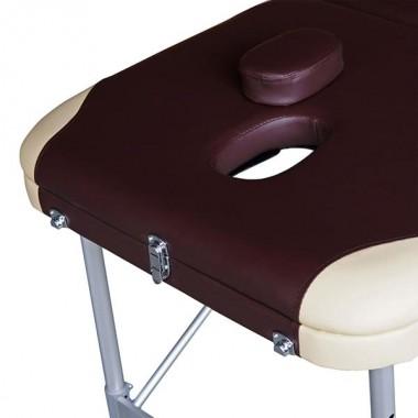 Массажный стол DFC Nirvana Elegant Pro Brown/Beige