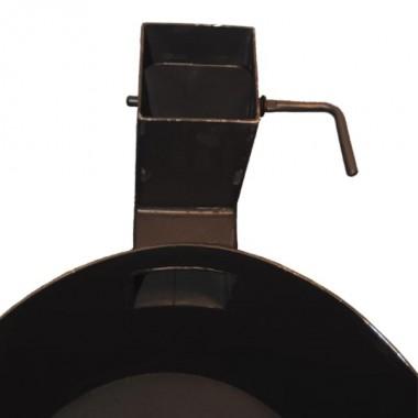Казан чугунный 12 л + Печь с трубой (комплект)