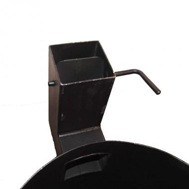 Казан чугунный 6 л + Печь с трубой (комплект)