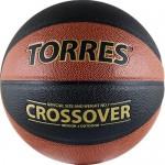 Мяч баскетбольный Torres Crossover арт.B30097 р.7