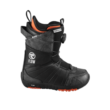Ботинки для сноуборда Flow Micron Boa BLK (2016) р.22
