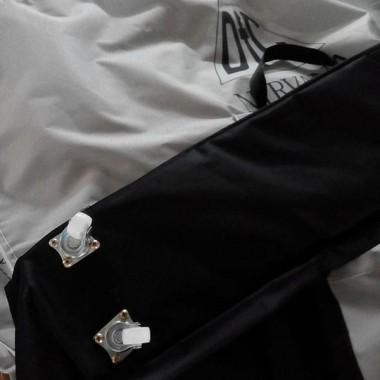Сумка для массажного стола DFC (серый/черный)