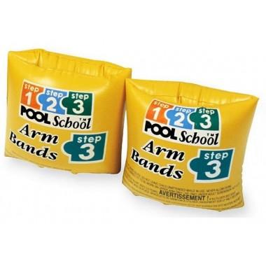 Нарукавники детские INTEX 56643 ROLL-UP ARM BANDS POOL SCHOOL 3-6 лет