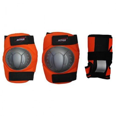Защита локтя, запястья, колена Action PWM-360 р.L