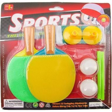 Набор для н/т TX103575 (2 ракетки, 2 мяча, сетка со стойками)