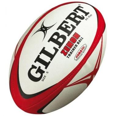Мяч для регби GILBERT Zenon р.5 белый/черый/красный